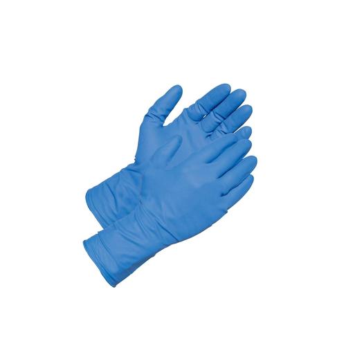 Blue Disposable Nitrile Hand Glove