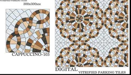 Check Design Parking Tiles