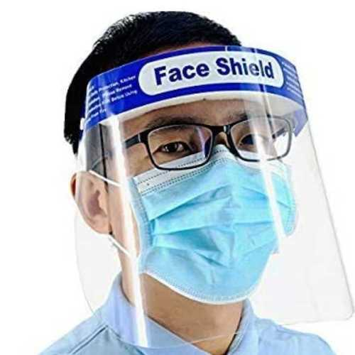 Clear Vision Protective Face Shield