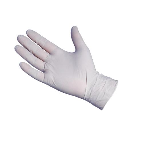 Disposable White Nitrile Hand Gloves