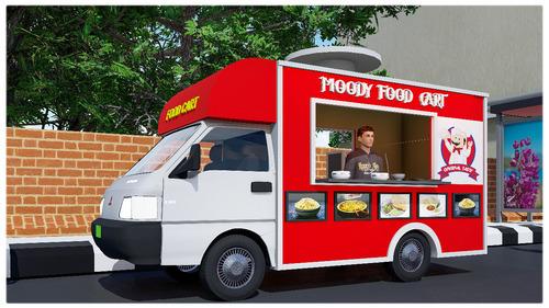 Fast Food Truck Corner