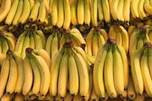 Fresh Yellow Banana Fruits