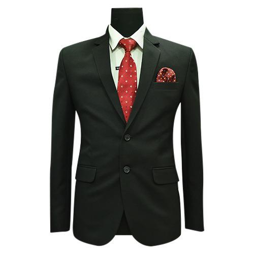 Mens Black Formal Blazer Material: Polyester