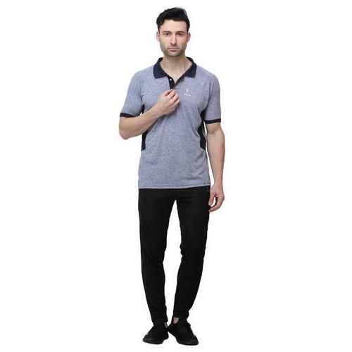 Mens Collar Half Sleeve T-Shirt