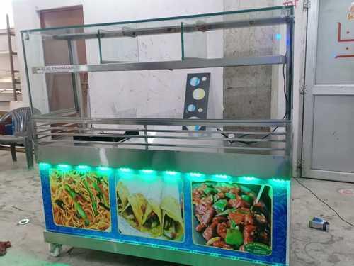 Stainless Steel Fast Food Corner