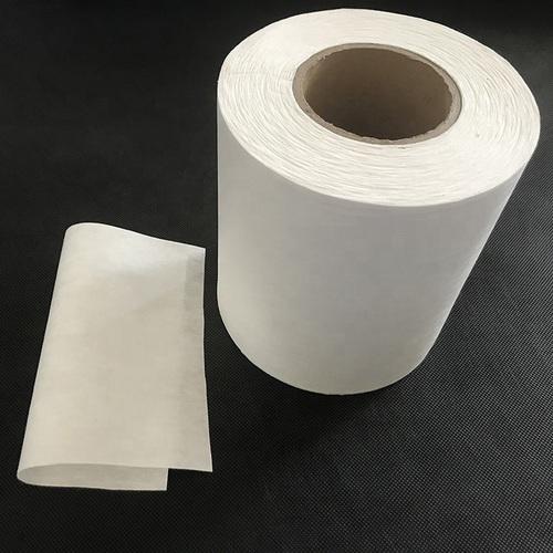 White Melt Blown Filter Fabric