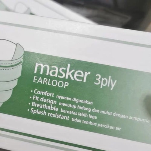 Affordable 3 Ply Face Mask