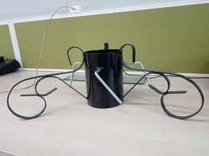 Black Colored Christmas Tree Stand