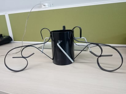 Durable Black Colored Christmas Tree Stand