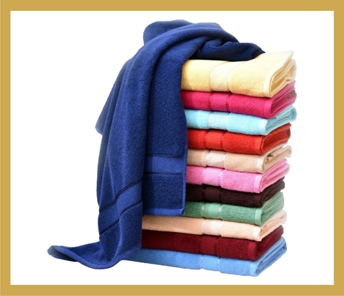 Cotton Solid Terry Bath Towel