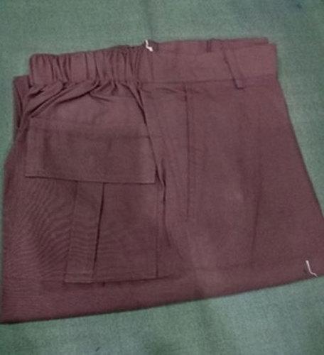 Mens Brown Cotton Pants