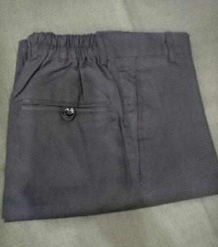 Mens Grey Cotton Pants No Fade