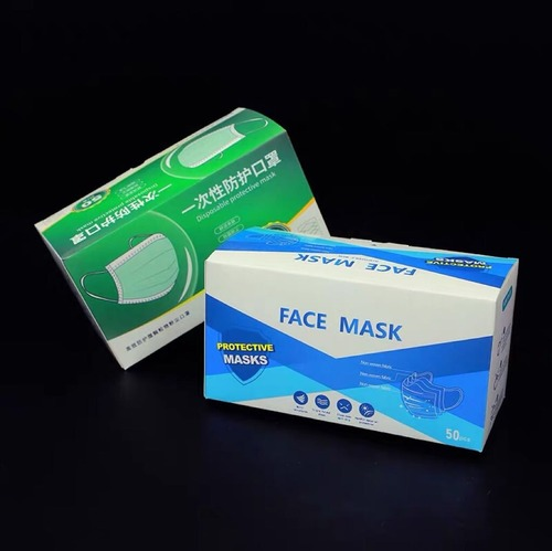 Protective 3 Ply Face Mask
