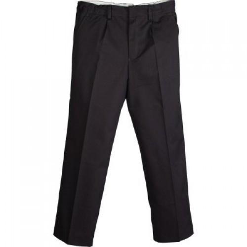 School Black Cotton Pant