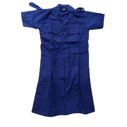 School Blue Cotton Skirt