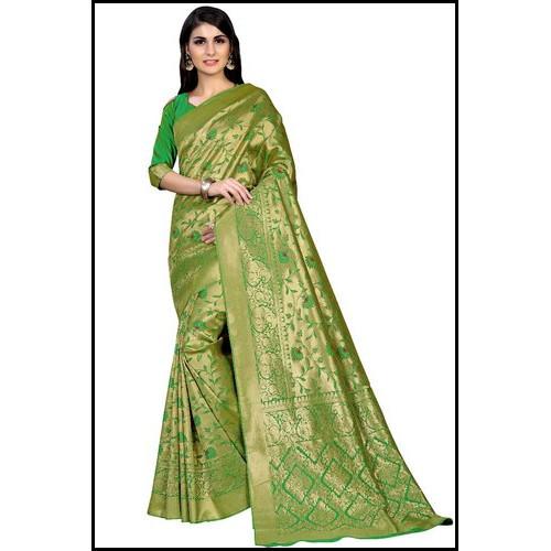 Wedding Wear Designer Kanchipuram Silk Ladies Saree