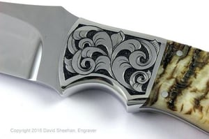 Engraving Services On Knife