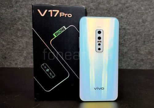 V17 Pro Mobile Phone (Vivo) Android Version: Android 9.0 (Pie), Funtouch 9.1