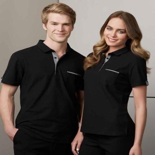 Black Colored Promotional Uniform T Shirt