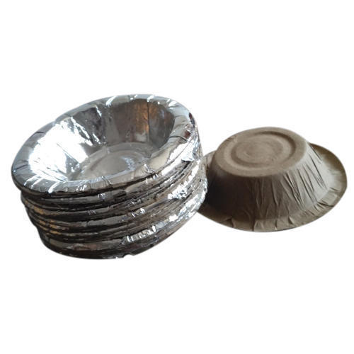 Conic Disposable Silver Paper Bowl