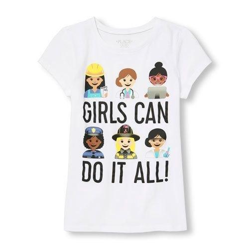 Girls Casual Wear T-Shirt