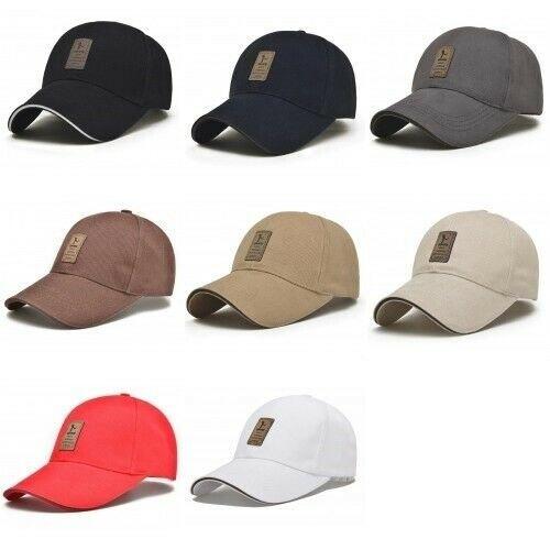 Plain Design Cotton Caps