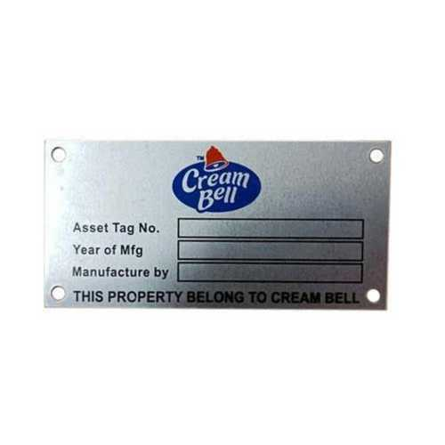 Custom Aluminium Anodized Printed Labels