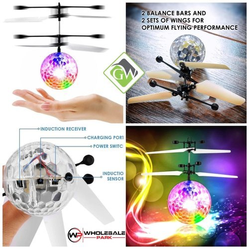 Battery Operated Infrared Ball Helicopter