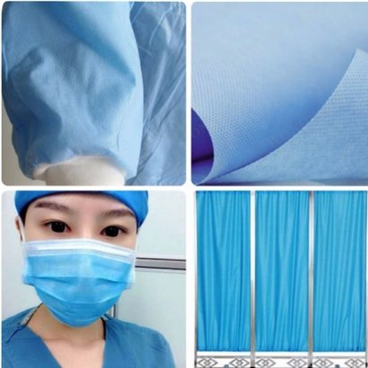 Any Colors Available 100% Poplyprolene Spunbond Nonwoven Fabric