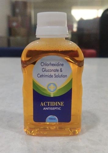 Actidine Antiseptic Disinfectant Liquid