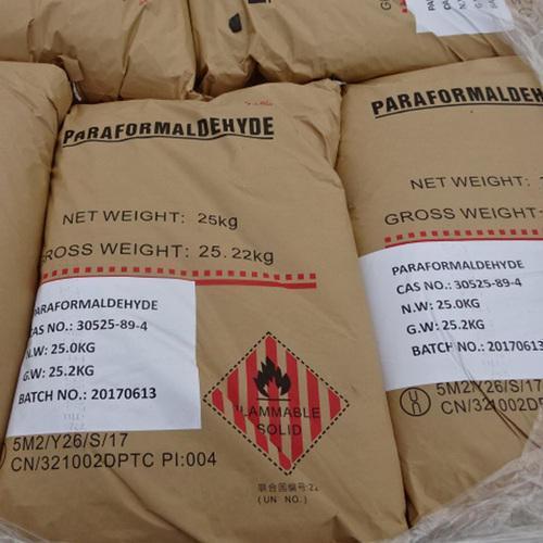 Paraformaldehyde, Formaldehyde, Hexamine, Bitumen, Furfural, RPO