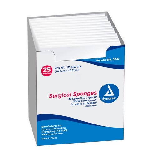 Natural Cotton Surgical Gauze Sponges