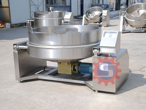 Stainless Steel Gas Jacketed Kettlea With Mixer