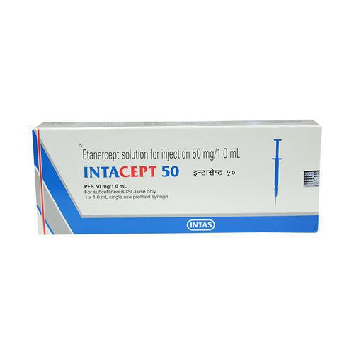 Intacept 50 Etanercept Injection 50mg
