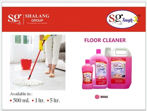 SG Tough X Rose Fragrance Floor Cleaner