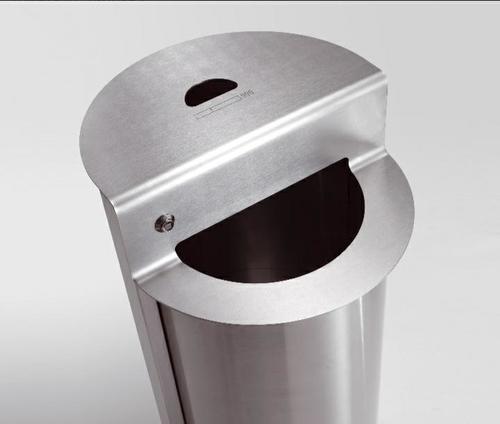 Stainless Steel Litter Bin Cum Ashtray