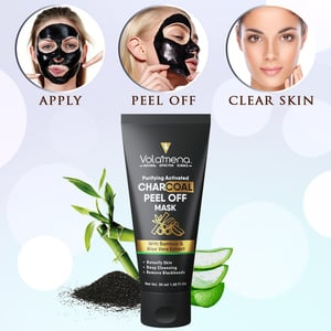 Activated Charcoal Peel Off Face Pack