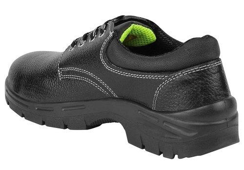 Allen Cooper Black Leather Safety Shoes Weight: 1.10  Kilograms (kg)