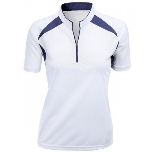 Men's Zipper Plain T-Shirt