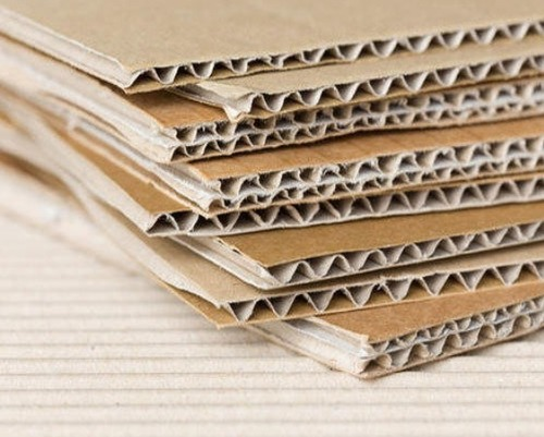 Plain Corrugated Paper Board