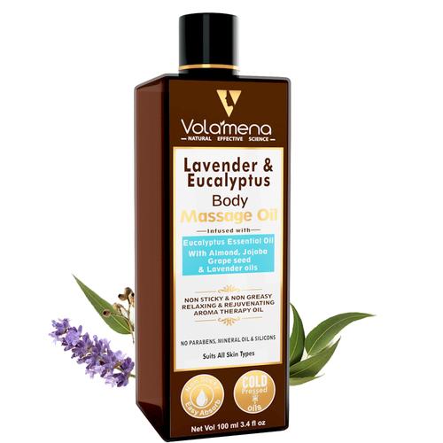 Volamena Lavender Eucalyptus Aroma Body Massage Oil 100ml