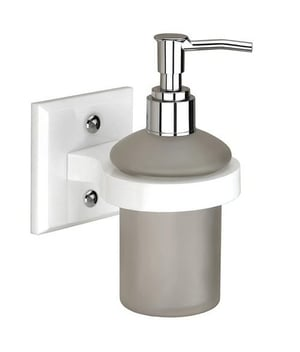 Acrylic Stand With Liquid Soap Dispenser