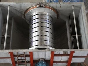 Gravity Disc Filter For Paper Pulping