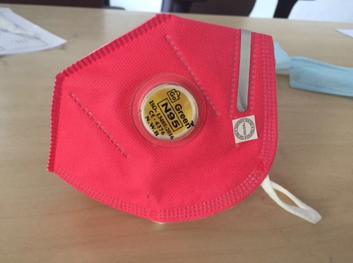 N95 Face Mask With Respiratory Valve