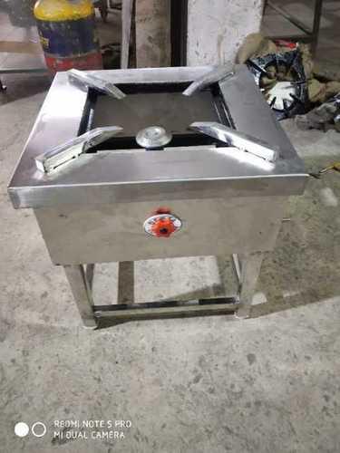 1 Burner Stainless Steel Gas Range