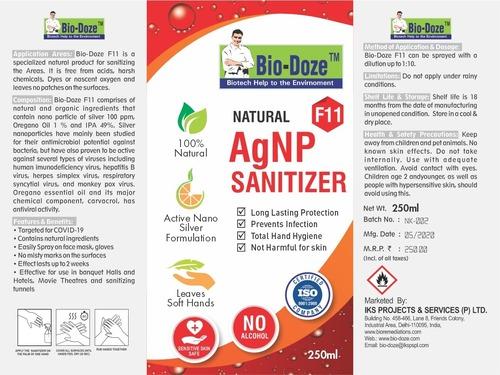 Bio-Doze F11 100% Natural Sanitizer