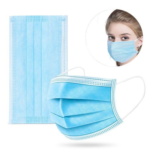 Vxl Disposable 3 Ply Face Mask