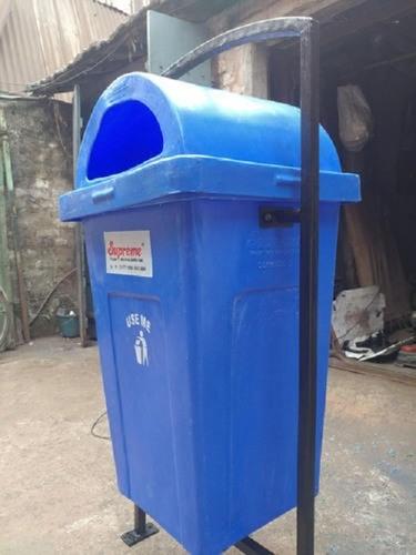 Blue Plastic Litter Bin
