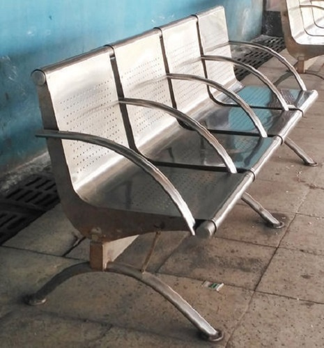 Miepl Stainless Steel Bench