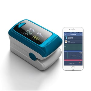 Pulse Oximeter Blood Oxygen Saturation Heart Rate Patient Monitor